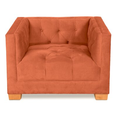 Ersheila Armchair Body Fabric: Saffron