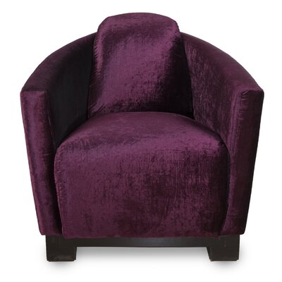 Lamarcus Barrel Chair Upholstery: Berry