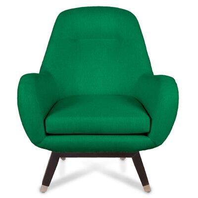 Mid Century Modern Armchair Upholstery: Kelly