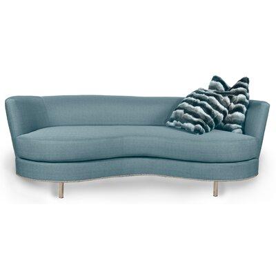 Valentino Sofa Upholstery: Sea