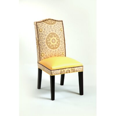 Loni M Designs Gabrielle Cotton Parson Chair - Color: Canary/Tan at Sears.com