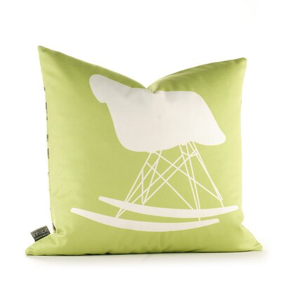 Modern Classics 1948 Throw Pillow Size: 18 x 18, Color: Lime