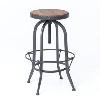 Ludovic 30 Adjustable Height Bar Stool