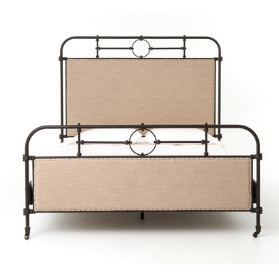 Sima Metal Platform Bed Size: Queen