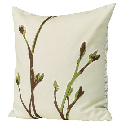 Botanicals Axis Suede Throw Pillow Size: 13 x 24, Color: Grass