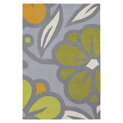 Laguna Hand Tufted Wool Flint/Kiwi Area Rug Rug Size: 8 x 10