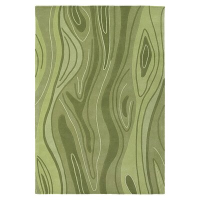 Madera Hand Tufted Green Grass Area Rug Rug Size: 8 x 10