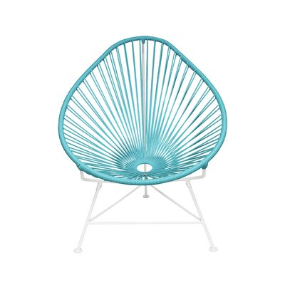 Acapulco Baby Pasadena Chair Weave Finish: White, Weave Finish: Blue