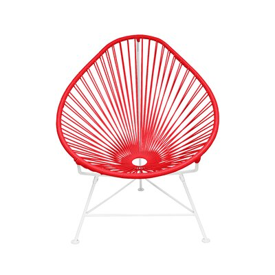 Acapulco Baby Pasadena Chair Weave Finish: White, Weave Finish: Red