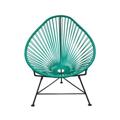 Canela Baby Pasadena Chair Upholstery: Black, Finish: Turquoise