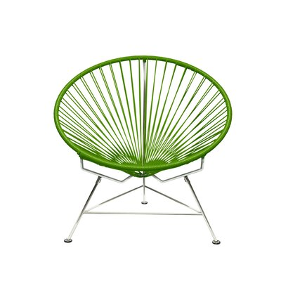 Papasan Chair Upholstery: Chrome, Upholstery: Cactus