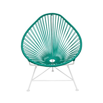 Canela Baby Pasadena Chair Weave Finish: White, Finish: Turquoise