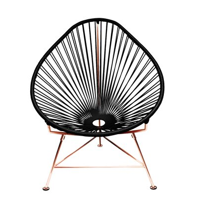 Acapulco Papasan Chair Finish: Copper