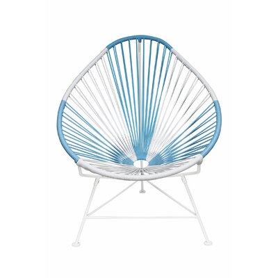 Acapulco Papasan Chair Color: Argentina, Color: White