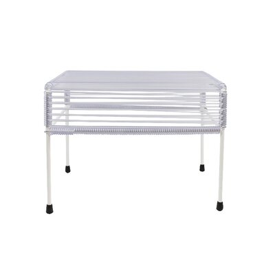 Cobbey Ottoman Finish: White/Clear