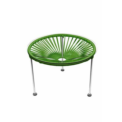Zica End Table Base Finish: Chrome, Top Finish: Cactus