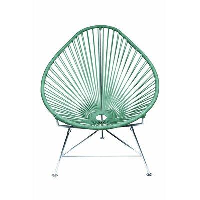Acapulco Baby Pasadena Chair Weave Finish: Seafoam, Weave Finish: Chrome