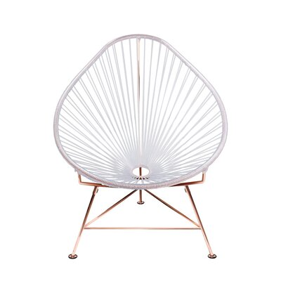 Svendsen Acapulco Chair Finish: Clear/Copper