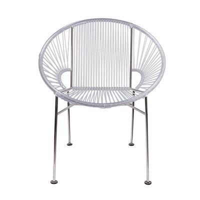 Mason Dining Chair Color: Clear/Chrome
