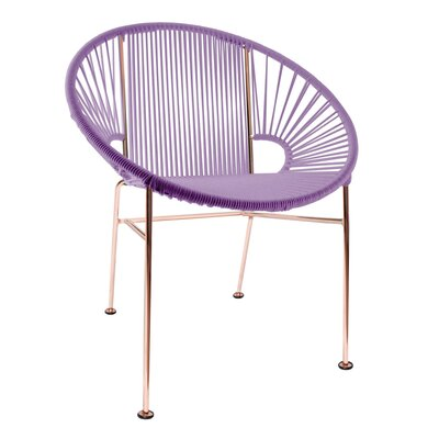 Mason Dining Chair Color: Orchid/Copper