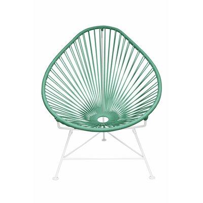 Acapulco Baby Pasadena Chair Weave Finish: White, Weave Finish: Seafoam