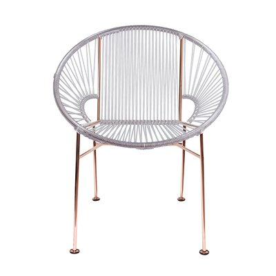 Mason Dining Chair Color: Clear/Copper