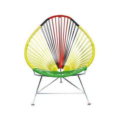 Acapulco Papasan Chair Color: Chrome, Color: Africa