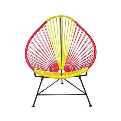 Acapulco Papasan Chair Color: Black, Color: Spain