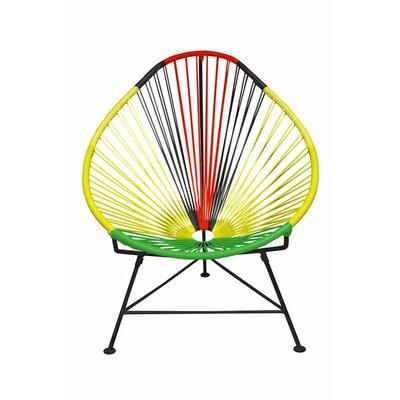 Acapulco Papasan Chair Color: Black, Color: Africa