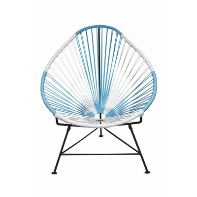 Acapulco Papasan Chair Color: Black, Color: Argentina