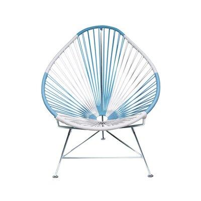 Acapulco Papasan Chair Color: Chrome, Color: Argentina