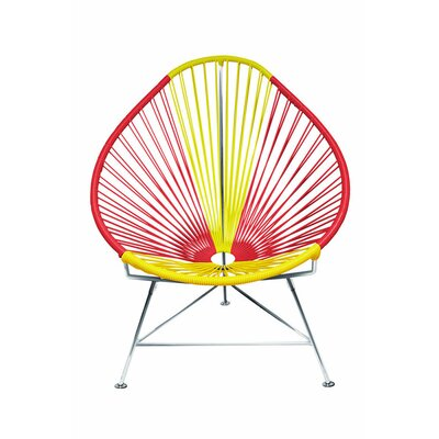 Acapulco Papasan Chair Color: Chrome, Color: Spain