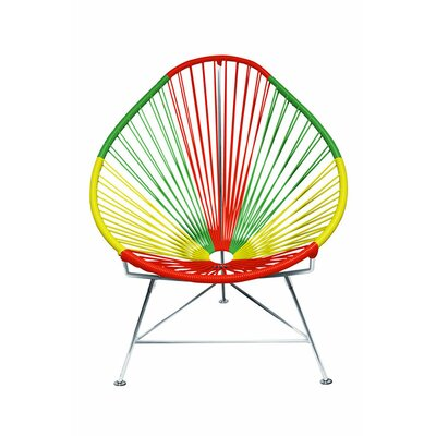 Canela Pear Papasan Chair Color: Chrome, Finish: Portugal