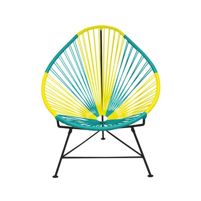Acapulco Papasan Chair Color: Black, Color: Brazil