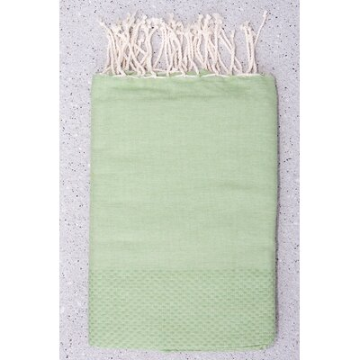 Tunisian Fouta Towels Bath Sheet Color: Khaki