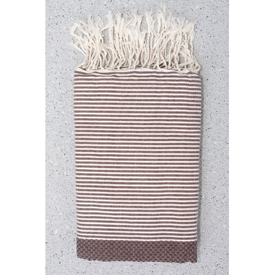 Tunisian Fouta Towels Bath Sheet Color: Aubergine