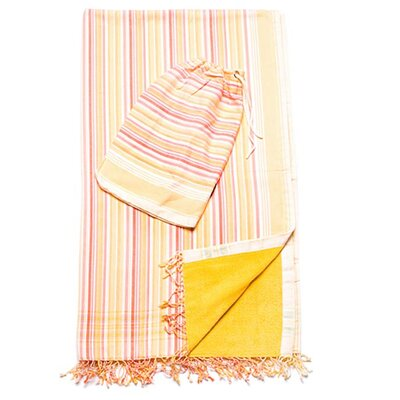 Maya Beach Towel with Pouch
