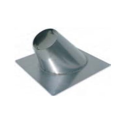 Angled Roof Flashing for Single Wall Venting Size: 3