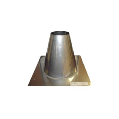 Flat Roof Flashing for Single Wall Venting Size: 5