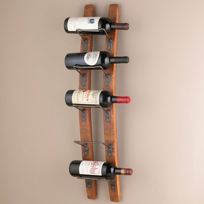 Blackburn 5 Bottle Wall Mounted Wine Rack