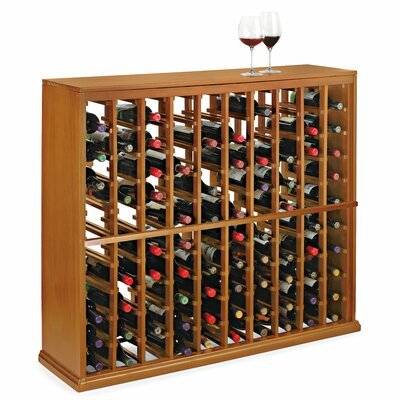 Nfinity 100 Bottle Floor Wine Rack Finish: Natural