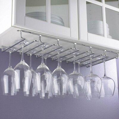 Under-Cabinet Hanging Wine Glass Rack (Set of 2)
