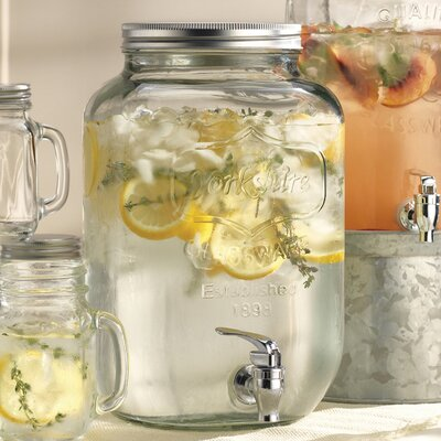 Cynthia Mason Jar Beverage Dispenser 762 24
