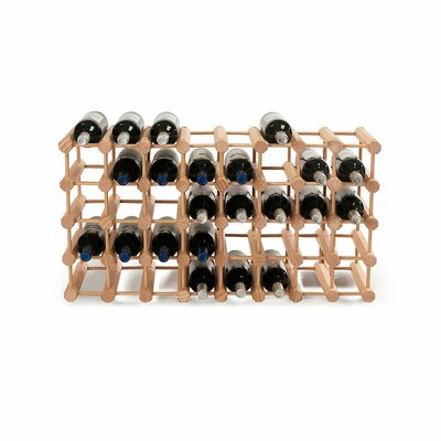 Modular Rack 40 Bottle Tabletop Wine Rack Finish: Natural
