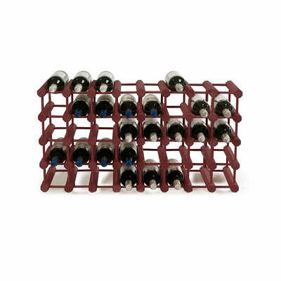 Modular Rack 40 Bottle Tabletop Wine Rack Finish: Mahogany