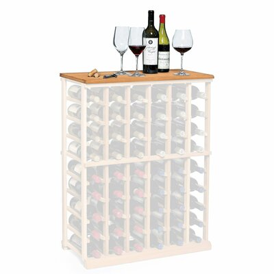Nfinity Wine Rack Tabletop Finish: Natural