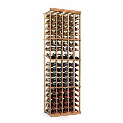 Nfinity 90 Bottle Floor Wine Rack Finish: Natural