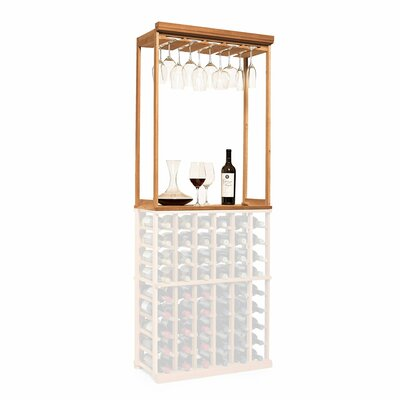 Nfinity Tabletop Wine Glass Rack Finish: Natural