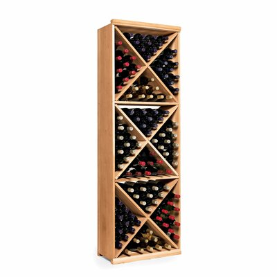 Nfinity 132 Bottle Floor Wine Rack Finish: Natural
