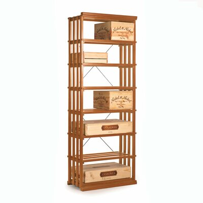 Nfinity 84 Bottle Floor Wine Rack Finish: Natural